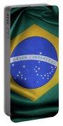 Brazil Flag Portable Battery Charger
