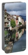 Canals Of Annecy Portable Battery Charger