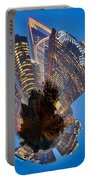 Charlotte Skyline Mini Planet Portable Battery Charger