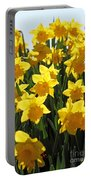 Daffodils In The Sunshine Portable Battery Charger