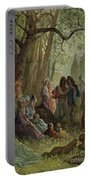 Eleanor Of Aquitaine Portable Battery Charger