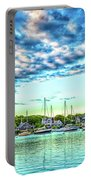 Falmouth Harbor Cape Cod Portable Battery Charger
