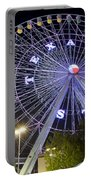 Ferris Wheel At The Texas State Fair In Dallas Tx Portable Battery Charger