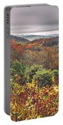 Graveyard Fields Overlook In The Smoky Mountains In North Caroli Portable Battery Charger