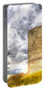 Hadleigh Castle Art Portable Battery Charger