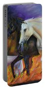 4 Horses Of The Apocalypse Portable Battery Charger