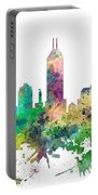 Indiana Indianapolis Skyline Portable Battery Charger