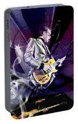 Joe Bonamassa Blues Guitarist Art Portable Battery Charger