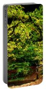 Landscape Acrylic Painting Portable Battery Charger