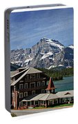 Many Glacier Hotel Portable Battery Charger