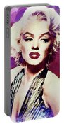 Marilyn Monroe, Actress And Model Portable Battery Charger