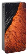 Molten Pahoehoe Lava Portable Battery Charger
