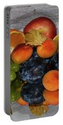 Multicolor Fruits Portable Battery Charger