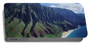 Na Pali Coast Aerial Portable Battery Charger