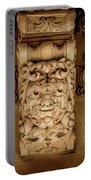 Noto, Sicily, Italy - Detail Of Baroque Balcony, 1750 Portable Battery Charger