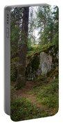 Old Forest In Kauppi Tampere Portable Battery Charger