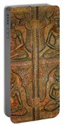 4 Panels Buddhas Wall Carving With Antique Filter Portable Battery Charger