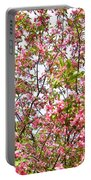 Pink Cherry Tree Portable Battery Charger