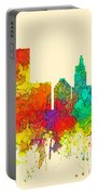 Providence Rhode Island Skyline Portable Battery Charger