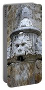 Public Fountain In Dubrovnik Croatia Portable Battery Charger