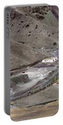 Rocky Landscape Of Leh City Ladakh Jammu And Kashmir India Portable Battery Charger