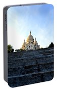 Sacre Coeur Portable Battery Charger by Riad Belhimer
