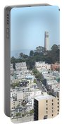 San Francisco Coit Tower Portable Battery Charger