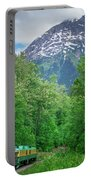 Scenic Train From Skagway To White Pass Alaska Portable Battery Charger