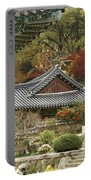 Seonamsa In Autumn Portable Battery Charger