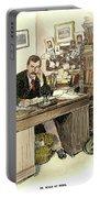 Sir Arthur Conan Doyle Portable Battery Charger