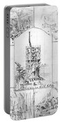 Statue Of Liberty, Paris Portable Battery Charger