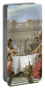 The Banquet Of Cleopatra Portable Battery Charger
