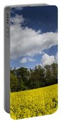 The Farm In Summer Portable Battery Charger