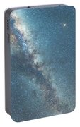 The Milky Way And Mars Portable Battery Charger