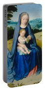 The Rest On The Flight Into Egypt Portable Battery Charger