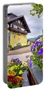 Town Of Kastelruth Street View Portable Battery Charger