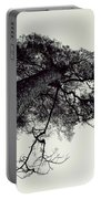 Trees And Sky Portable Battery Charger