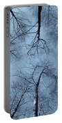 Trees In Epping Forest Portable Battery Charger