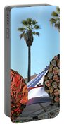 4 Umbrellas Day Of The Dead  Portable Battery Charger