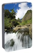 View Of Iao Needle Portable Battery Charger