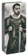 Viking Warrior With Sword Portable Battery Charger