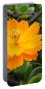 Australia - Cosmos Carpet Yellow Flower Portable Battery Charger