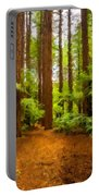 Landscape Drawing Portable Battery Charger