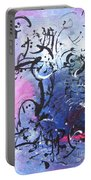 Abstract Expressionsim Art Portable Battery Charger