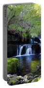 Paintings Of Landscapes Portable Battery Charger