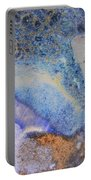 42. V2 Blue Purple Orange Black Glaze Painting Portable Battery Charger