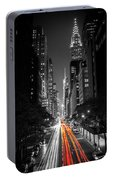 42nd Street Nyc Portable Battery Charger