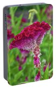 4393- Flower Portable Battery Charger