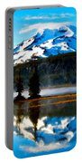 Landscape Oil Painting Portable Battery Charger