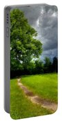 Landscape Print Portable Battery Charger